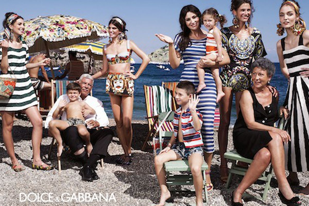 """Dolce &amp; Gabbana's spring <a href=""""http://www.dolcegabbana.com/dg/woman/advertising-campaign-gallery"""">ads</a>"""