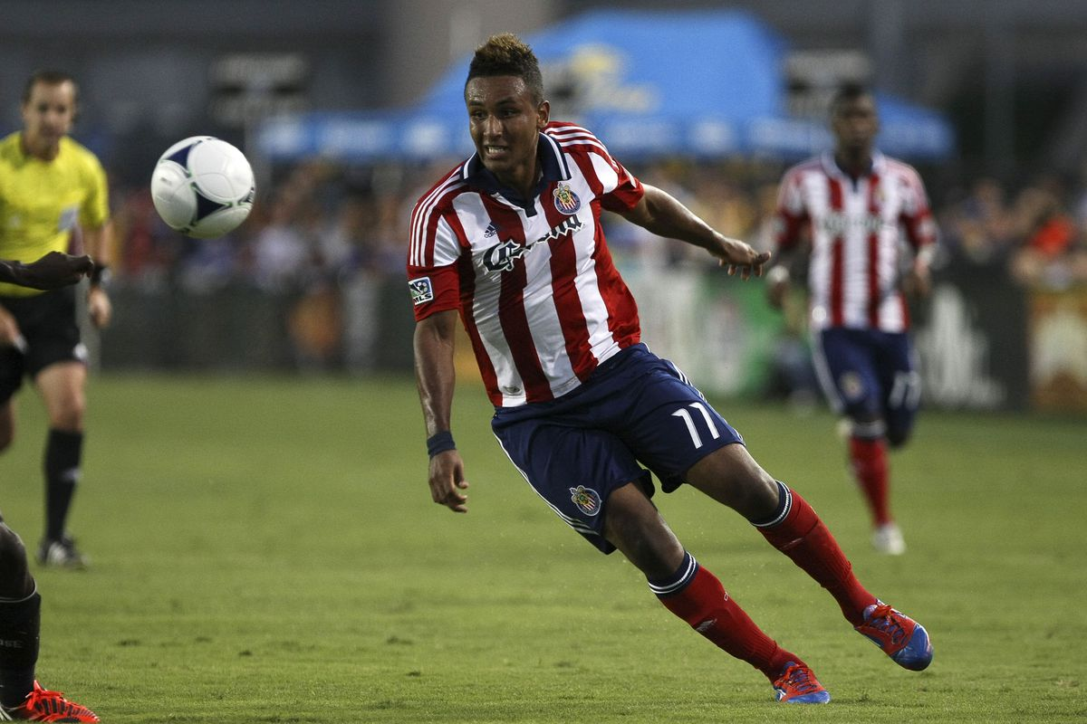 September 2, 2012; 19-year old Juan Agudelo is getting recognition. Mandatory Credit: Kelley L Cox-US PRESSWIRE