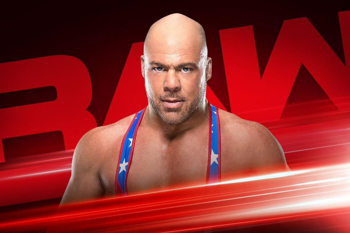 Kurt angle will announce his wrestlemania opponent and other stuff planned for raw next week - Pictures of kurt angle ...