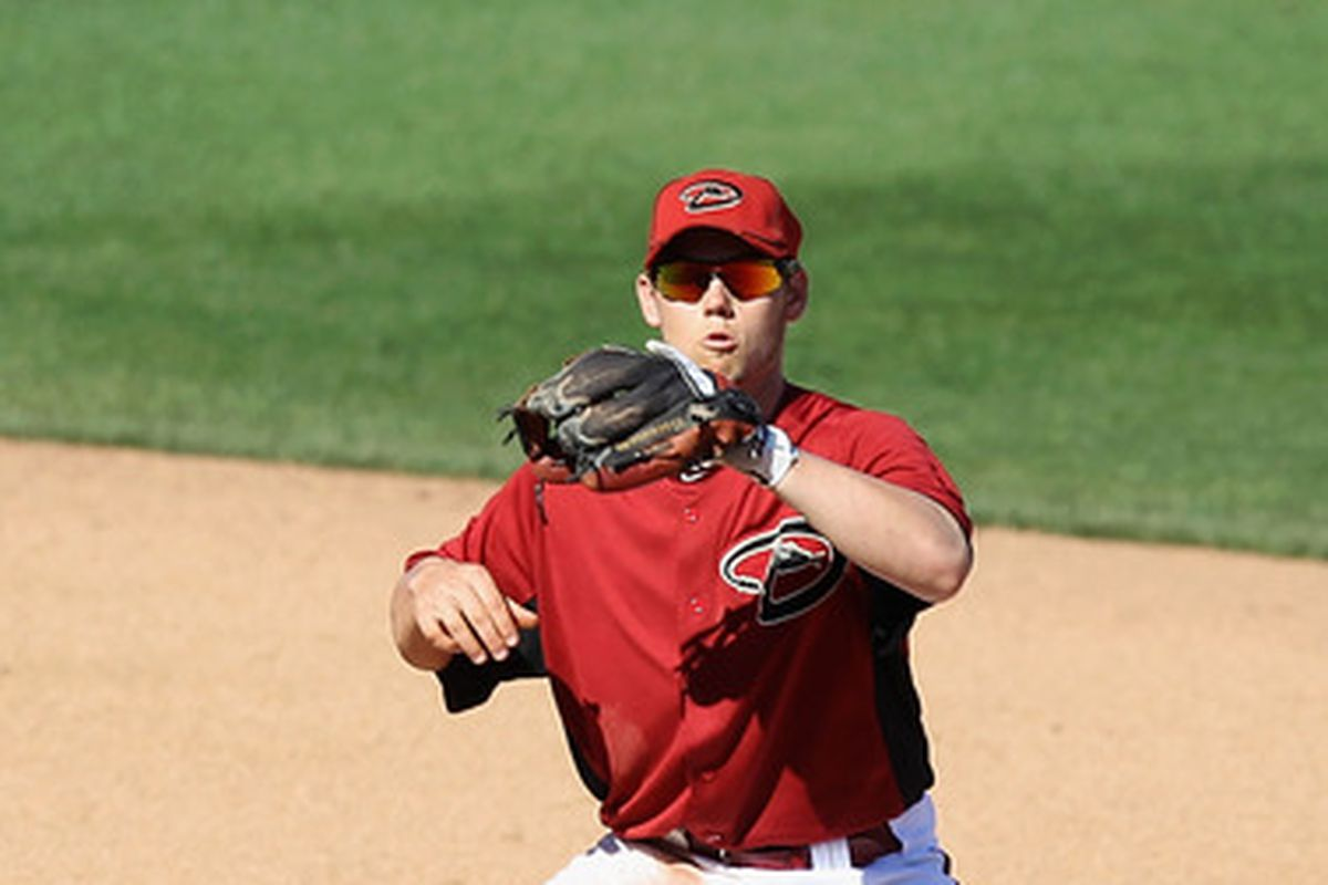 Chris Owings, shortstop of the future?