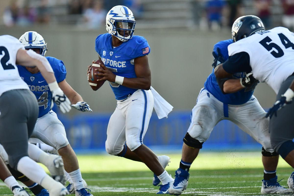 Air Force Loses Identity In 28 25 Loss To Nevada Mountain West