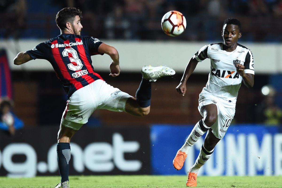 San Lorenzo v Atletico Mineiro - Copa CONMEBOL Sudamericana 2018