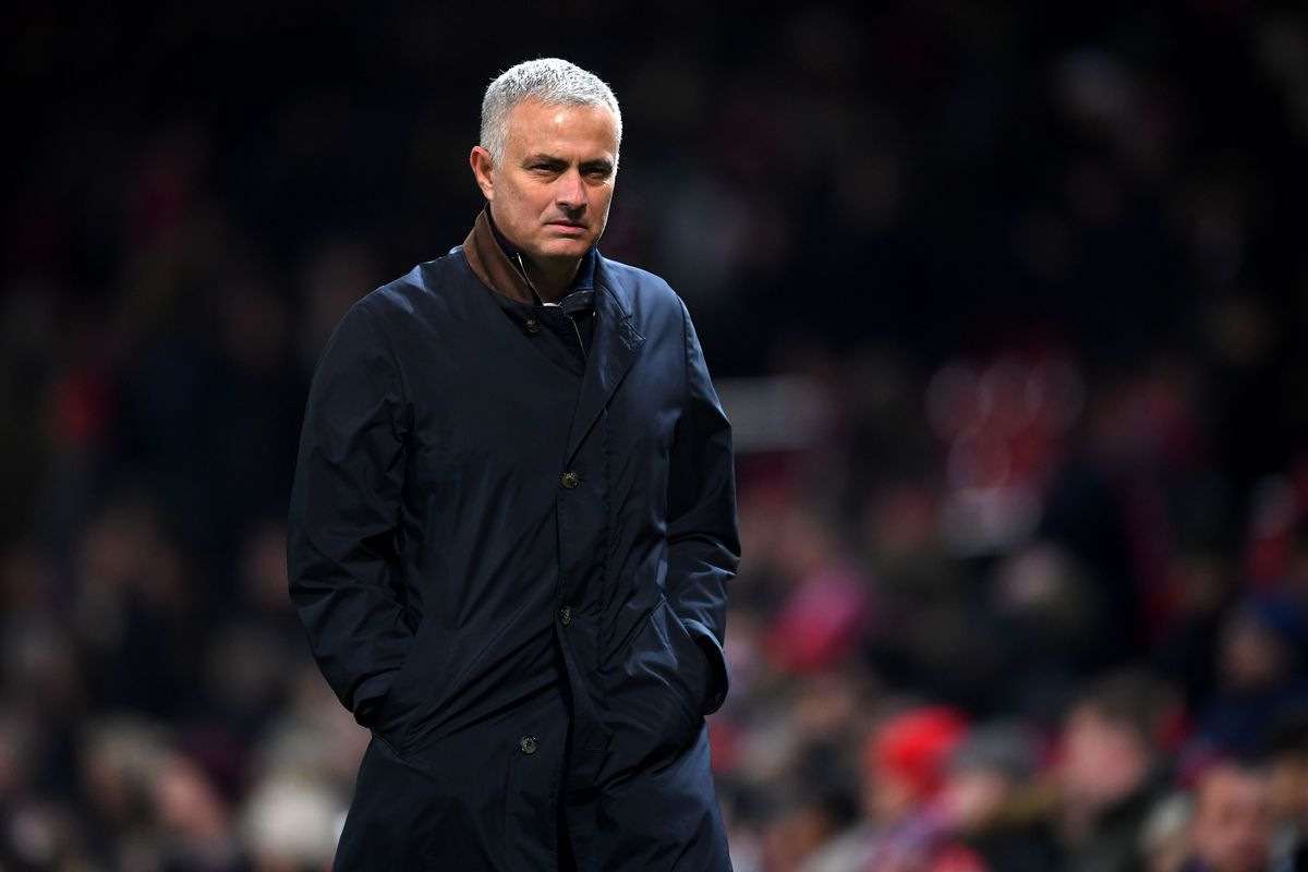 Manchester United manager Jose Mourinho against Young Boys Bern before Southampon Premier League game
