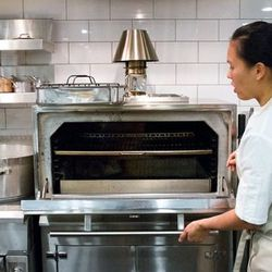 """A brand new """"Josper"""" charcoal broiler oven by Wood Stone"""