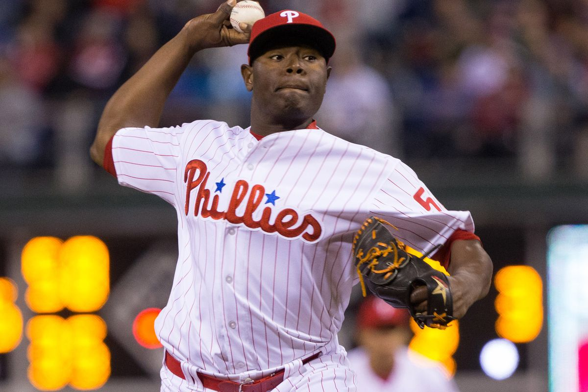 What, you don't recognize this Phillies reliever? Don't worry I didn't know him either, but he could be their closer this year.