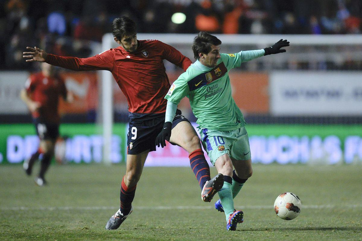 Barça killer Dejan (Leka) Lekic is no longer playing for Osasuna