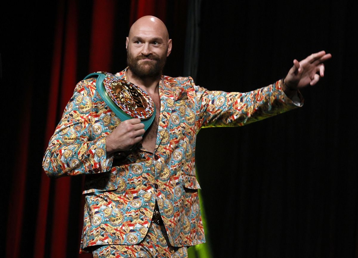 Tyson Fury v Deontay Wilder - News Conference