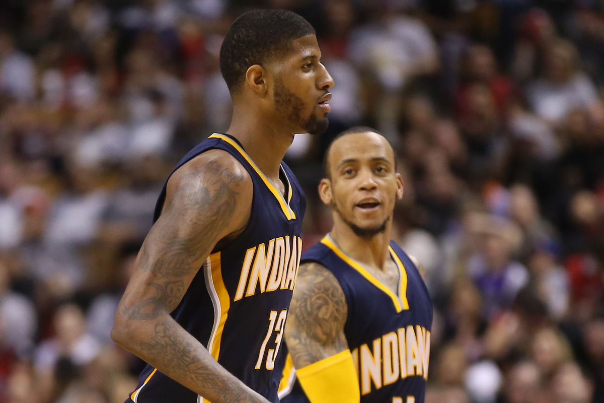 Paul George and Monta Ellis will have to lead a new group of players for the Pacers.
