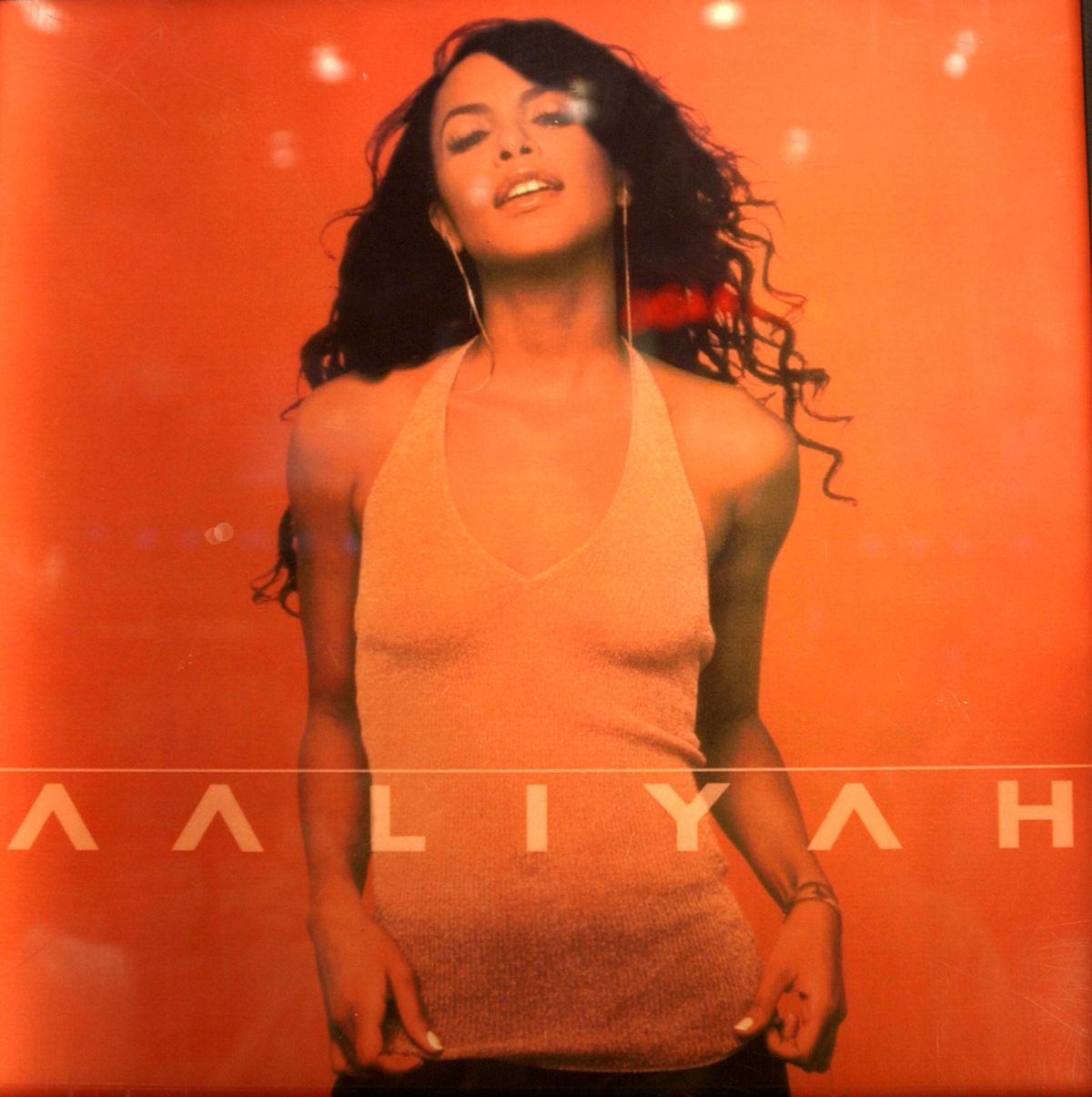 The cover of Aaliyah's self-titled final album.