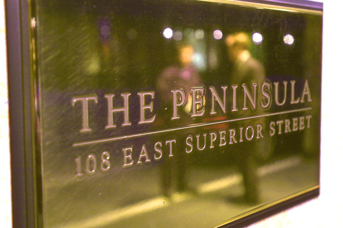 10-29-2002 The Peninsula Hotel in downtown Chicago has been rated the number one hotel in the nation according to the Zagat Survey results. Lucio Guerrero reporting. (Photo by Richard A. Chapman/Sun-Times)