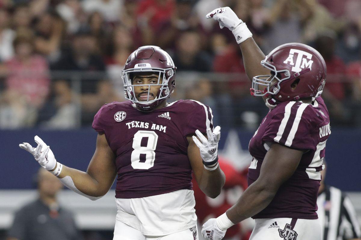 NCAA Football: Arkansas at Texas A&M