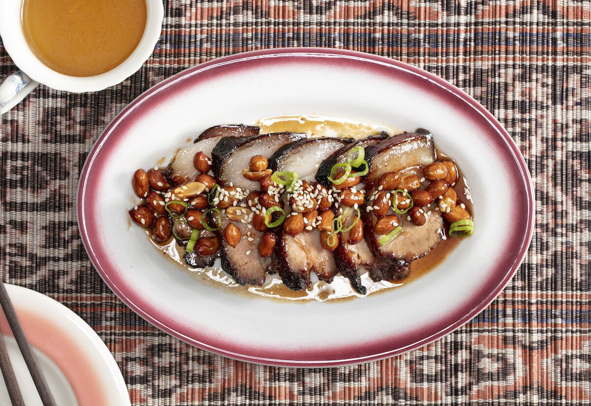 Pork and peanuts from NiHao