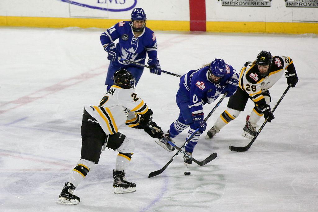 Toronto Furies v Boston Blades at Tsongas Center in Boston, 2016-17 season