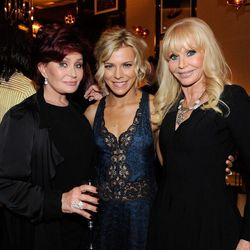 Sharon Osbourne, Kimberly Perry and Britt Ekland