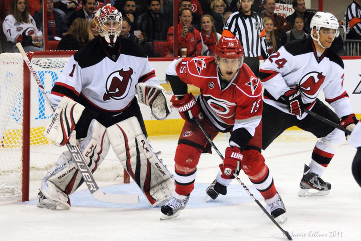 """Tuomo Ruutu has found a comfort level in Kirk Muller's system, scoring goals in four straight while he rides a six-game point streak. (Photo by <a href=""""http://www.flickr.com/photos/jbk-ltd/collections/72157619609115405/"""">Jamie Kellner</a>)"""