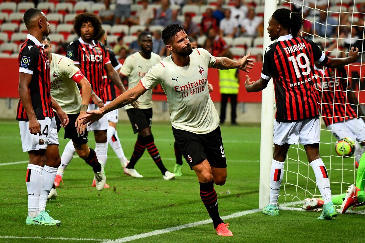 OGC Nice v AC Milan- Pre-Season Friendly