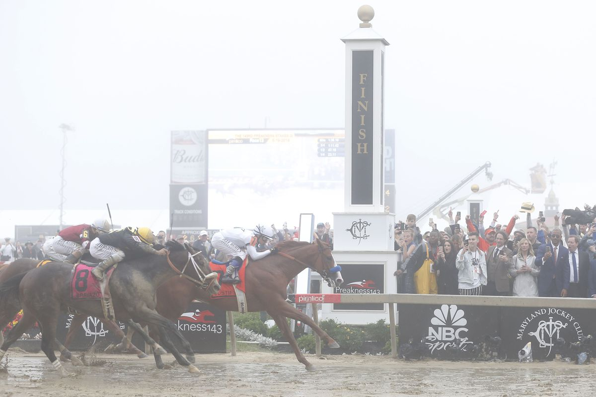 Preakness payouts 2018: Justify wins big, and betting