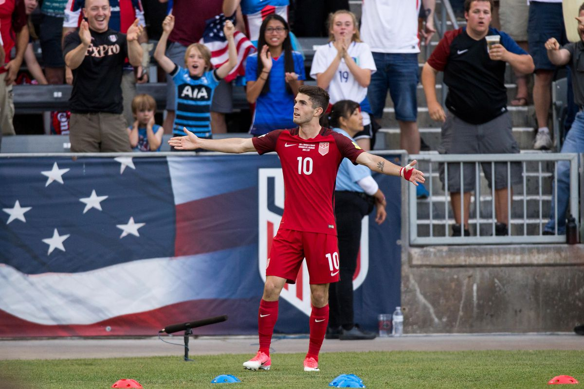 Us Soccer Fans Will Get Used To This Pose Isaiah J Downing Usa Today Sports