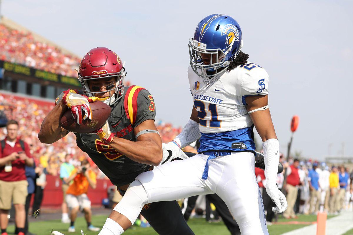 NCAA Football: San Jose State at Iowa State
