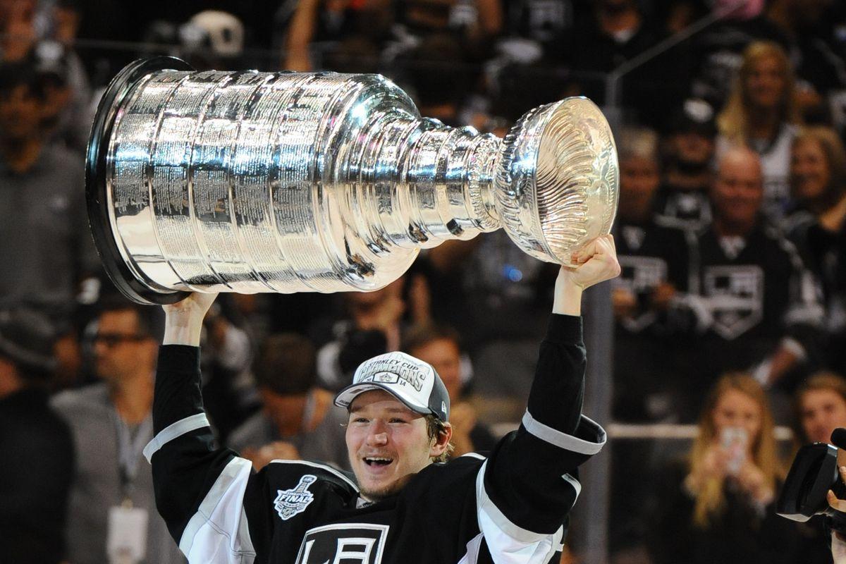 NHL: JUN 13 Stanley Cup Final - Rangers at Kings - Game 5