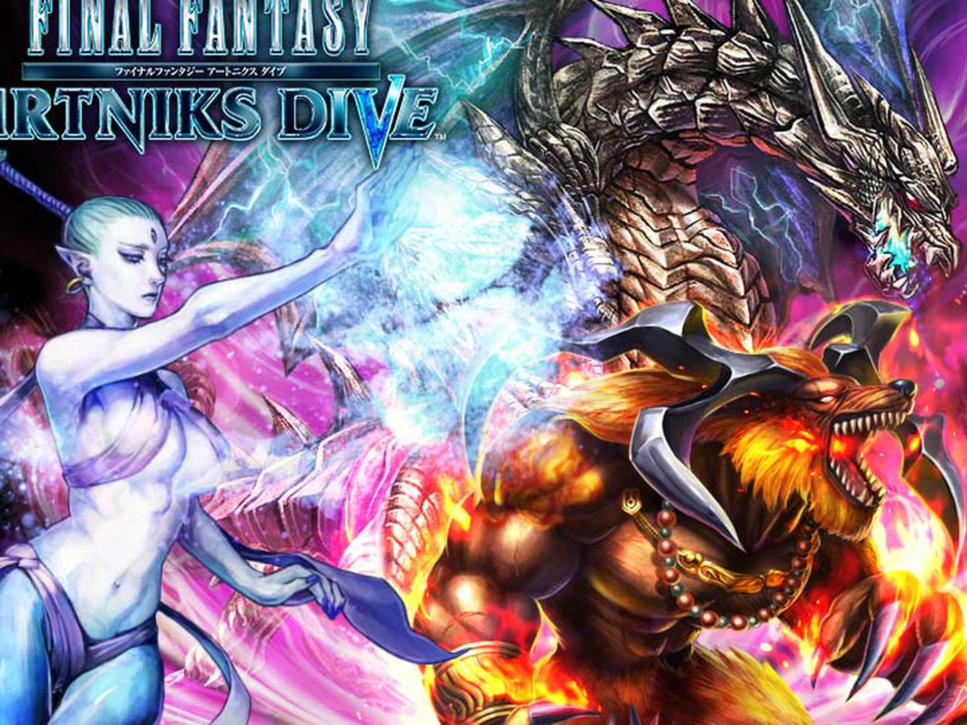 Final Fantasy Artniks Dive is a new free-to-play RPG
