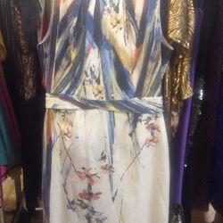 Elie Tahari colorful canvas sheath, $70 (was $298)