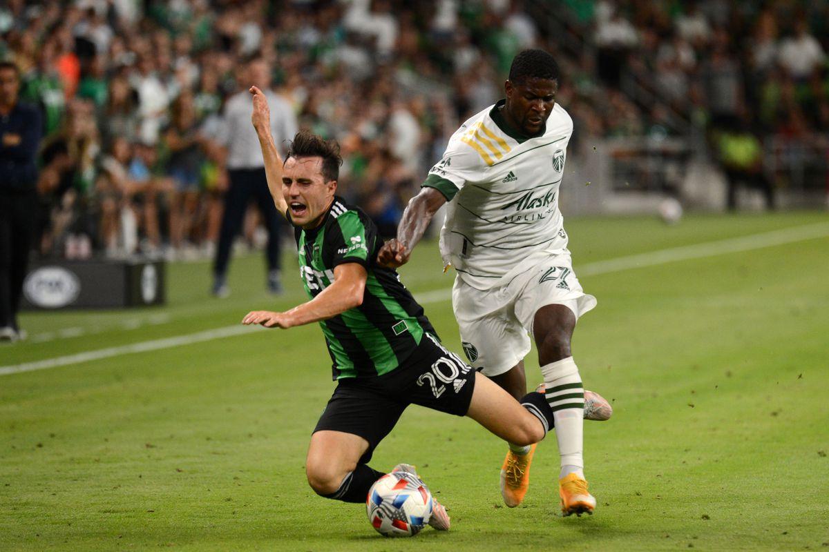 SOCCER: JUL 01 MLS - Portland Timbers at Austin FC