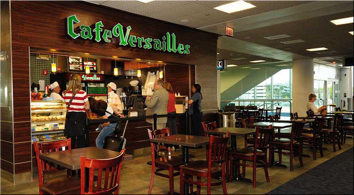 Cafe Versailles Airport Menu