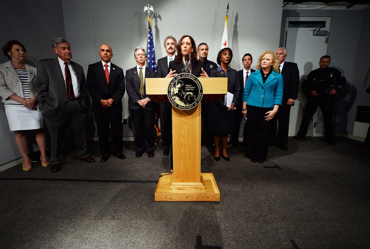 Democratic debate: Kamala Harris's criminal justice record