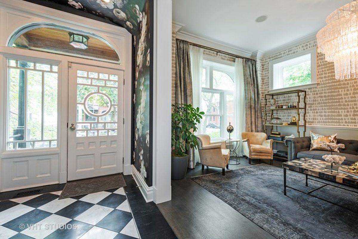 Designer Interiors Historic Ukrainian Village Home With Designer Interiors Asks $2.95
