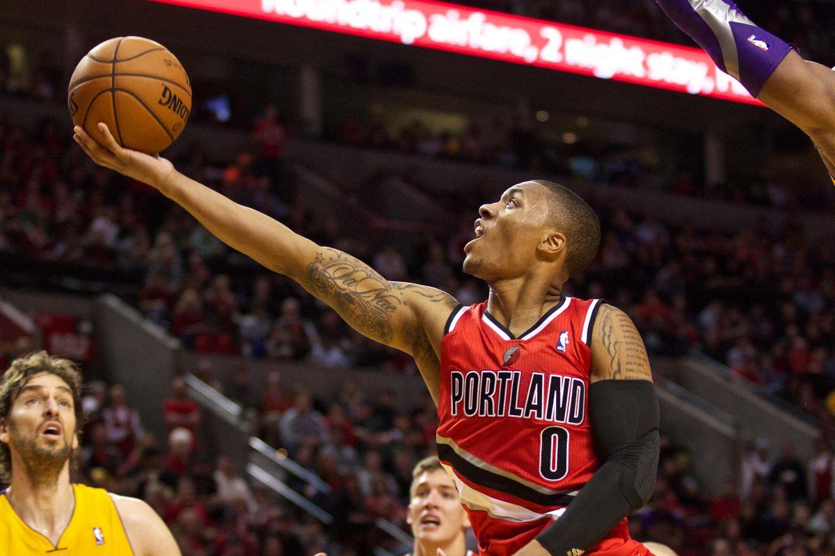 Blazers Guard Damian Lillard To NBA TV s Mitch Richmond It s