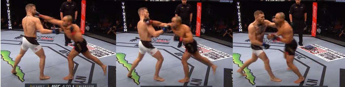 Conor McGregor Eddie Alvarez counter punch