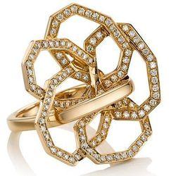 Octium Diamond Octagon Flower Ring: $7,500