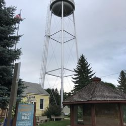 World's Largest Ball of Twine (made by one man), Darwin, MN