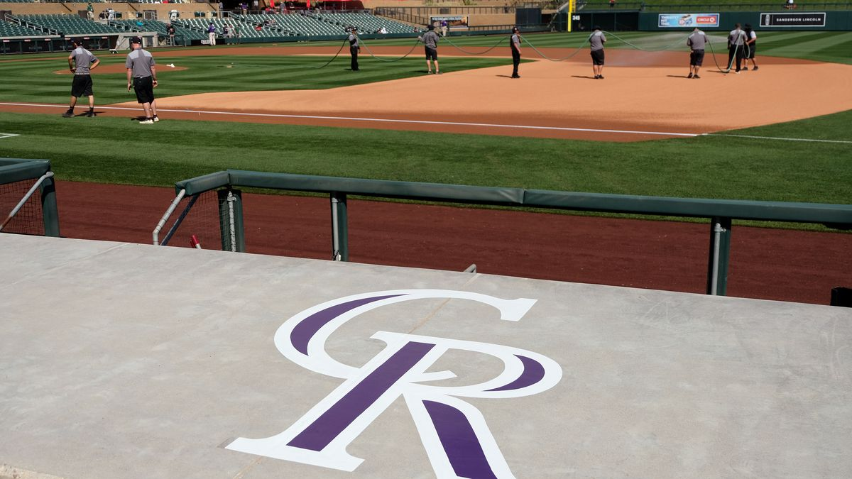 Colorado Rockies Spring Training opening day vers the Arizona Diamondbacks at Salt River Fields at Talking Stick