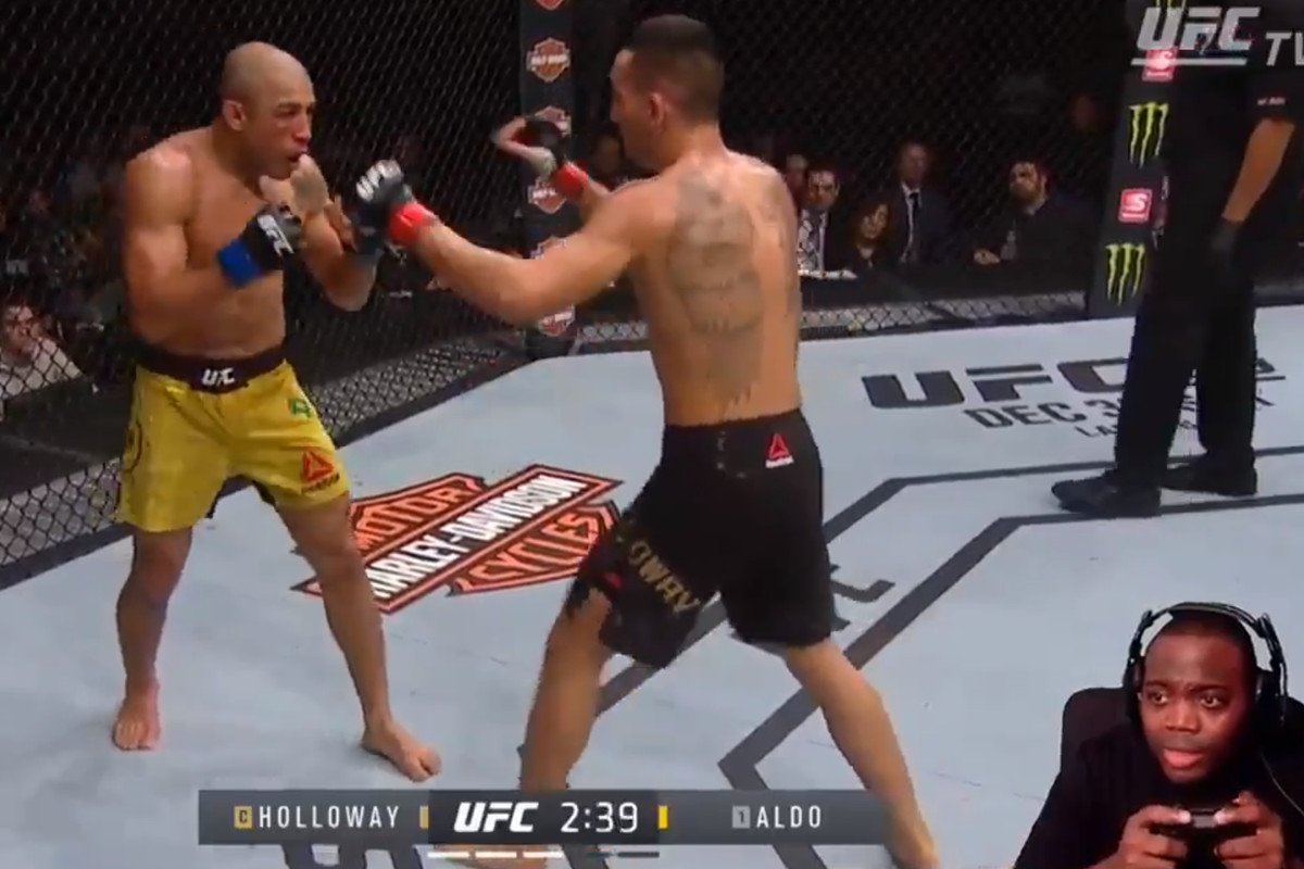 Video: Gamer gets away with illegally streaming UFC 218 by