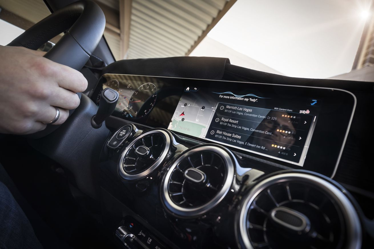 mercedes uses its new car to launch yet another voice assistant