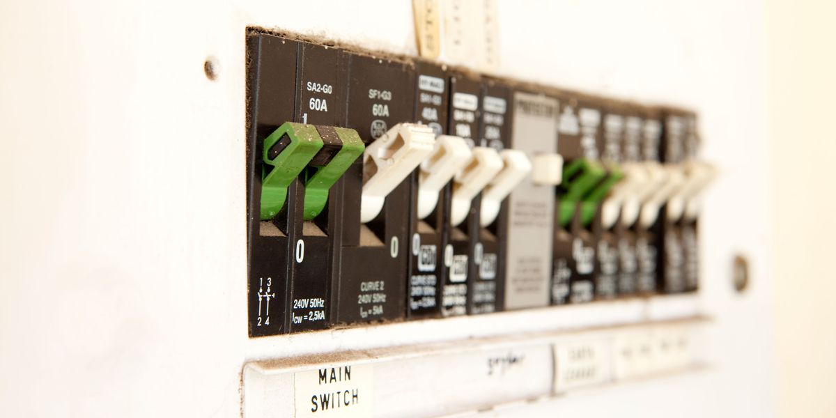 Inside Your Home's Electrical Service Panel - This Old House | Spark Fuse Breaker Box |  | This Old House