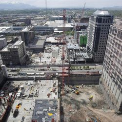 Since the project was announced in October 2006, approximately 4,000 jobs were created, mostly in the construction field, according to Salt Lake economic development director Bob Farrington. Of those, about 2,000 positions will remain.
