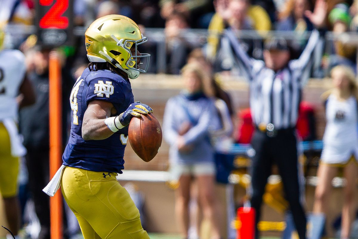 Notre Dame Running Back Jahmir Smith suffers first real injury of camp