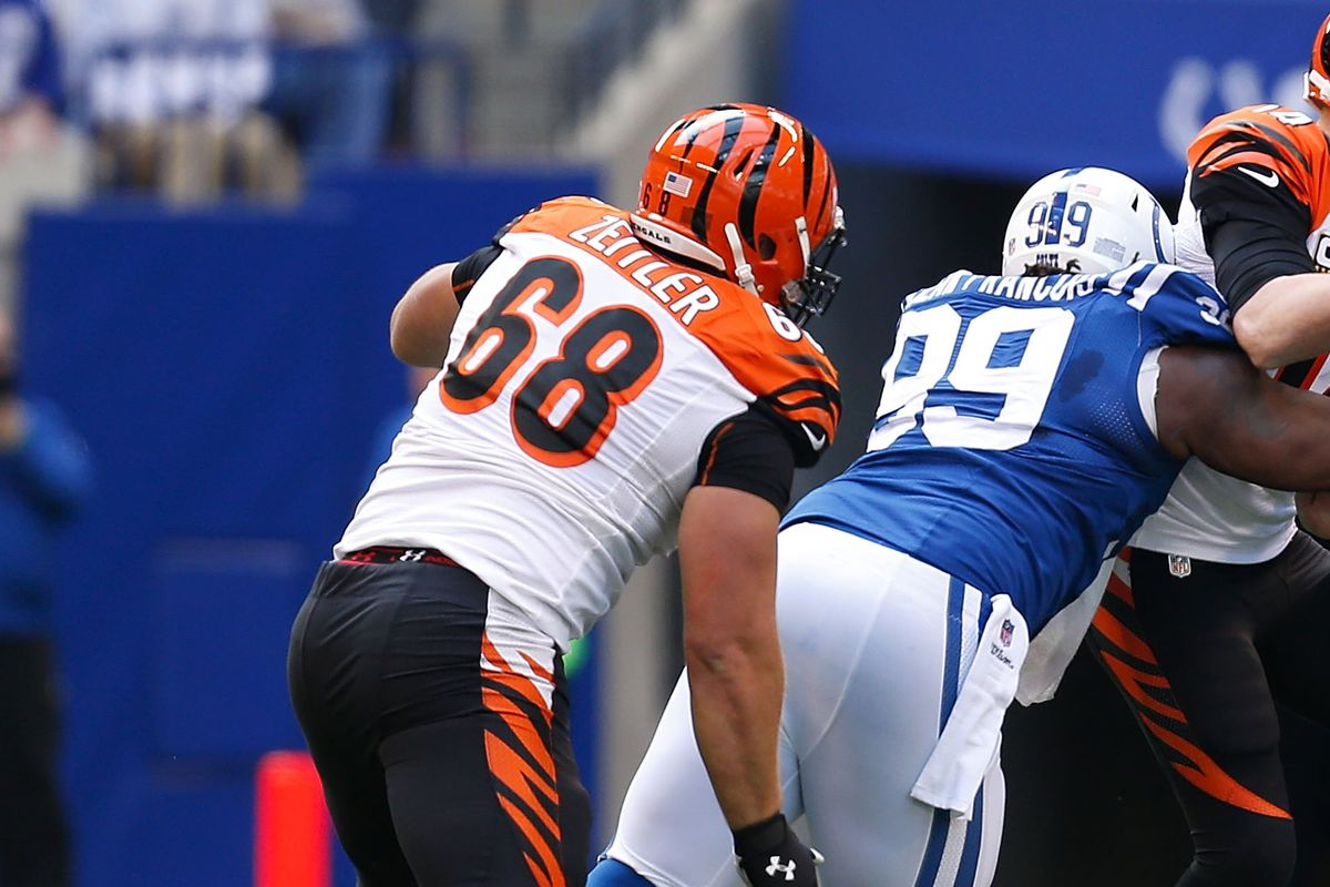 Kevin Zeitler drawing interest from Colts Browns Jaguars and