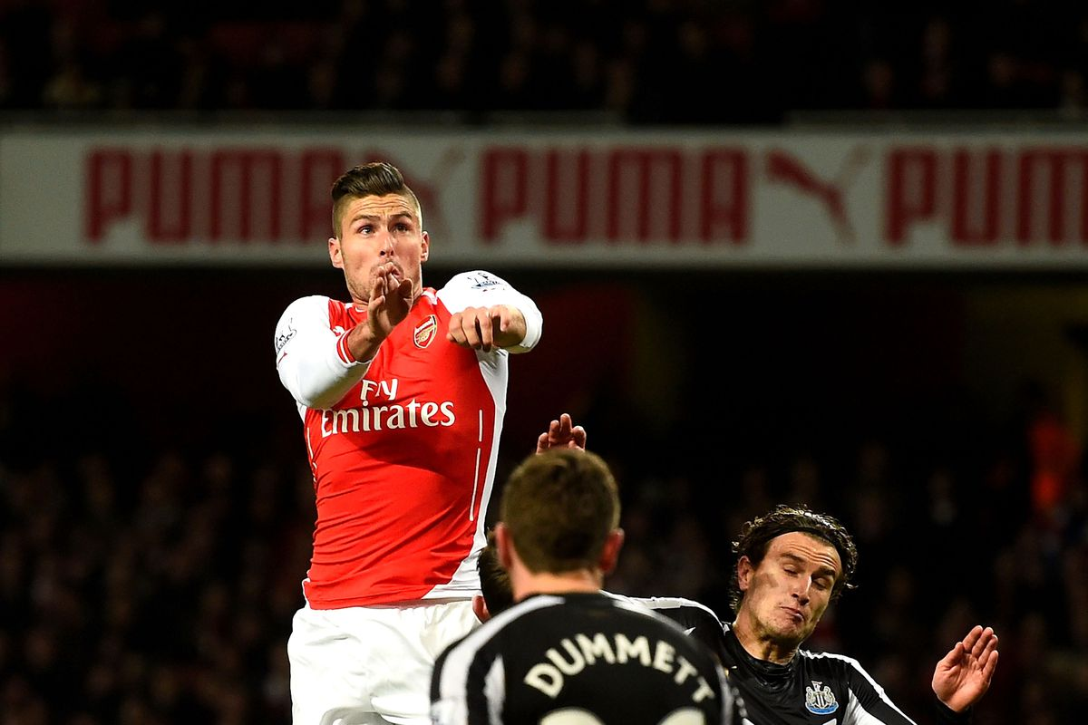 Arsenal Vs Newcastle: Arsenal Vs. Newcastle Match Report: Ducking And Dodging