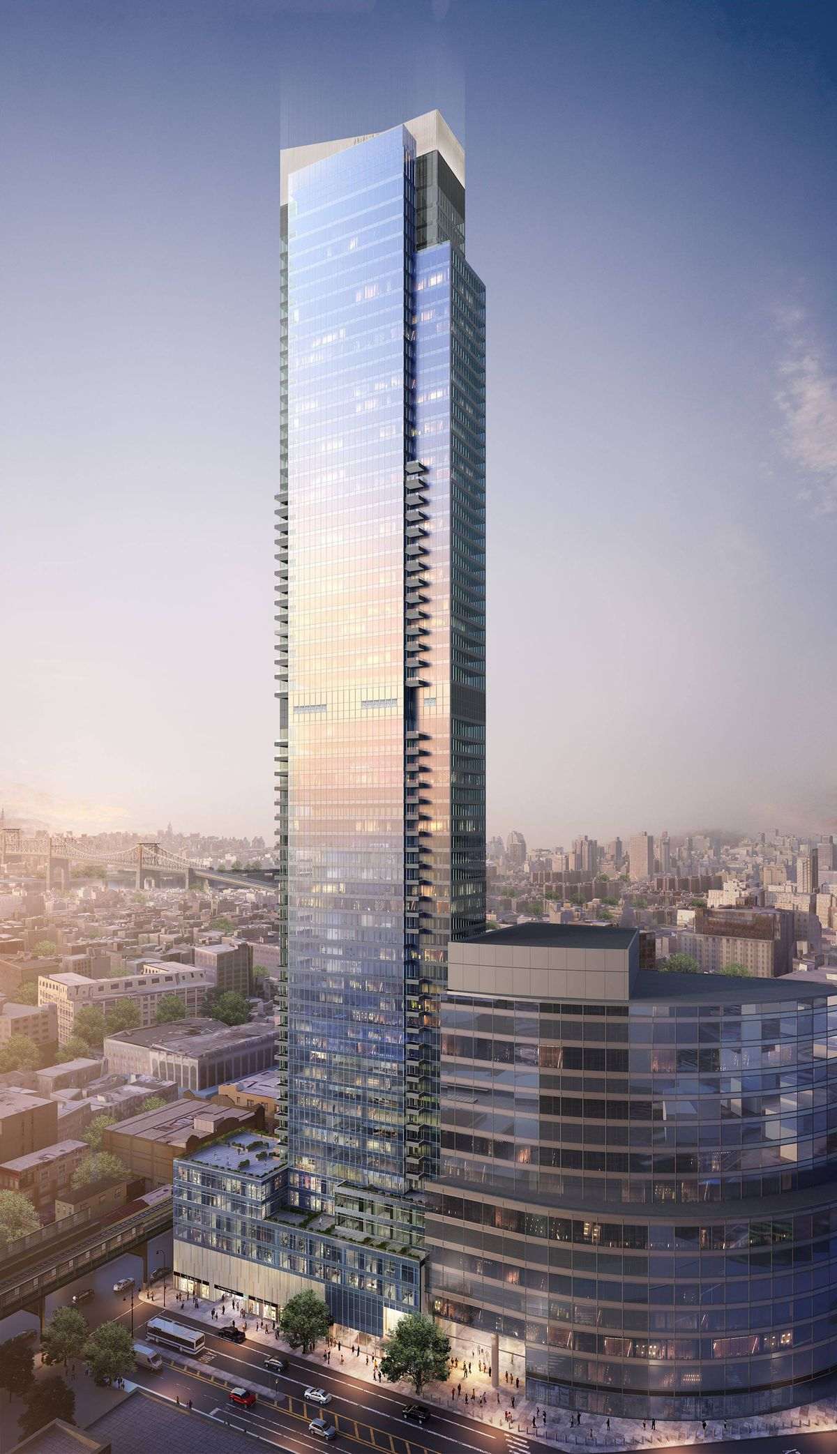 Queens's tallest tower shrinks by 200 feet - Curbed NY