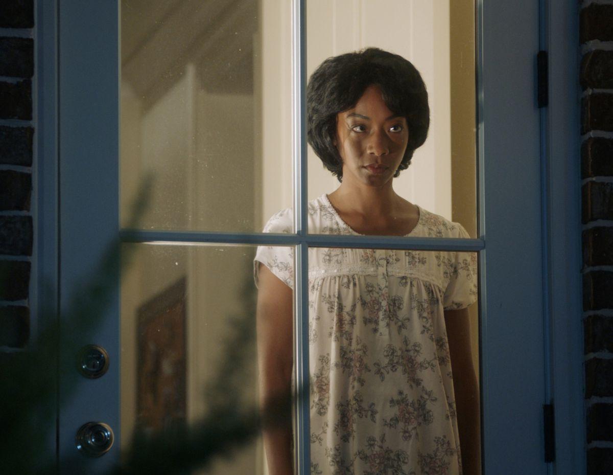 """Betty Gabriel in a scene from Jordan Peele's """"Get Out."""""""