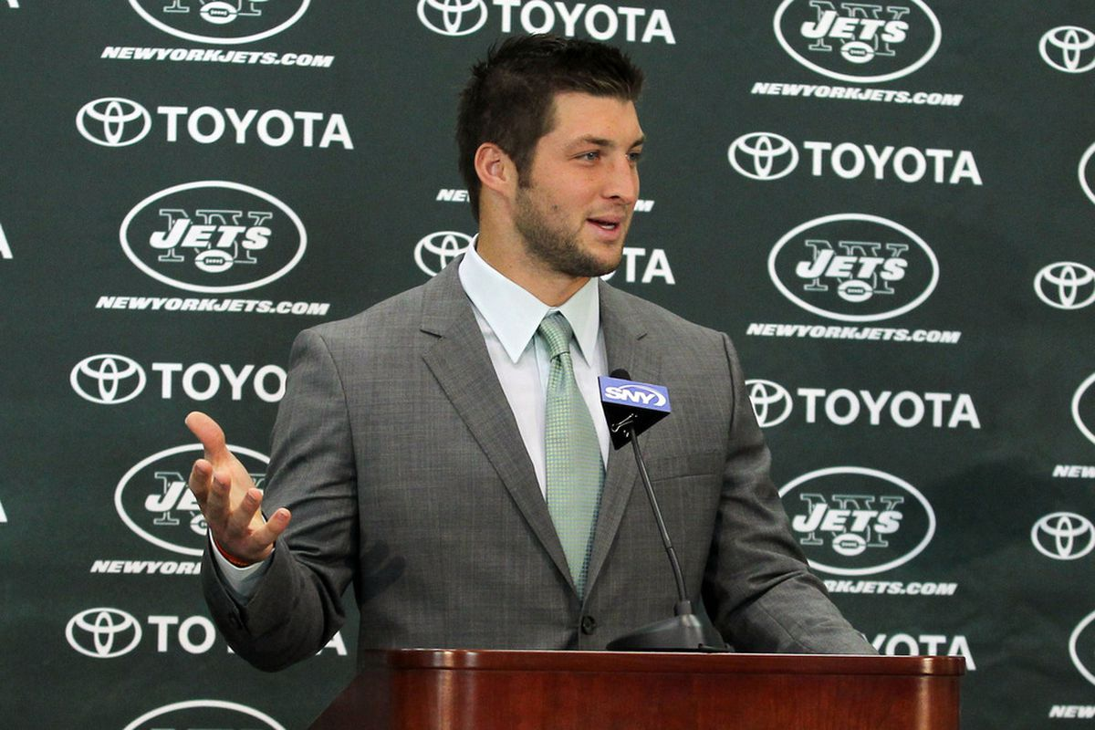 New Tim Tebow Jets Jerseys Cause Nike To Sue Reebok