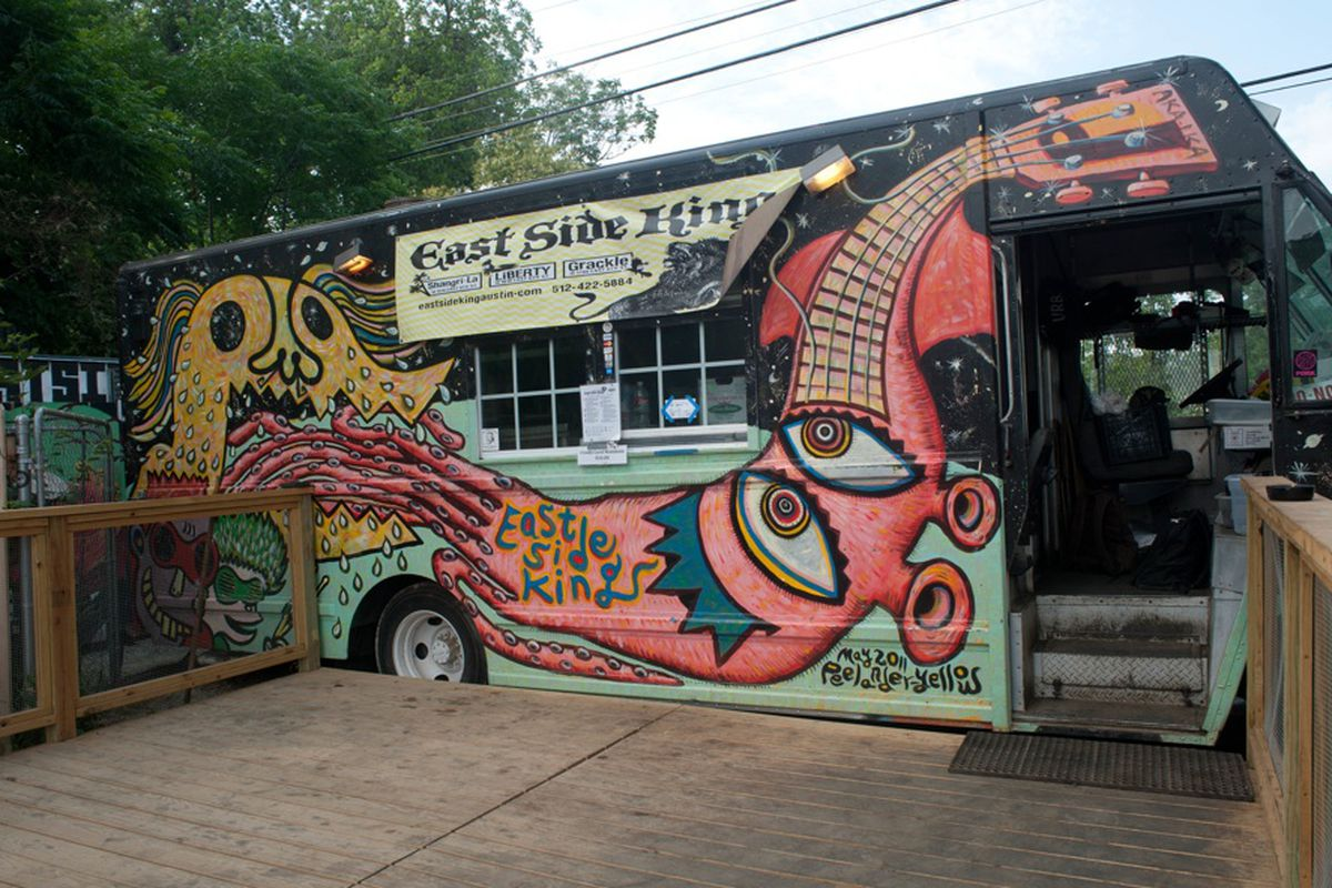 Paul Qui's East Side King food truck.
