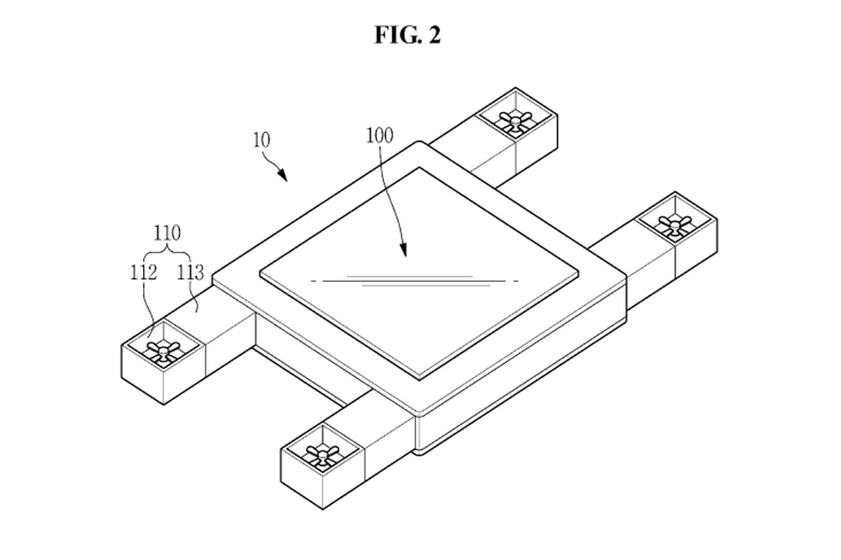 Samsung patents flying screen that follows the eye