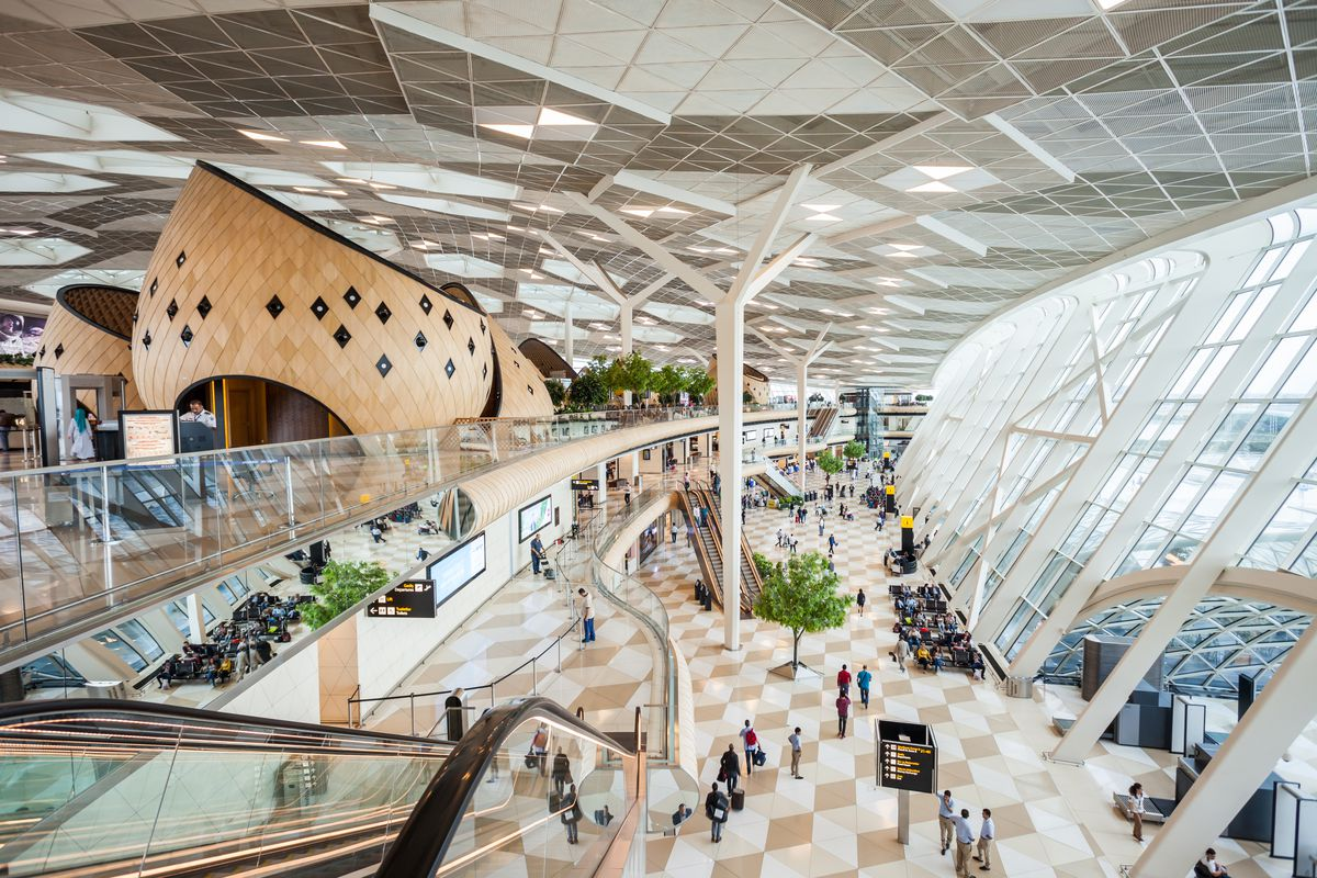 Airport architecture the 13 most beautiful airports in for International azerbaijan decor expo