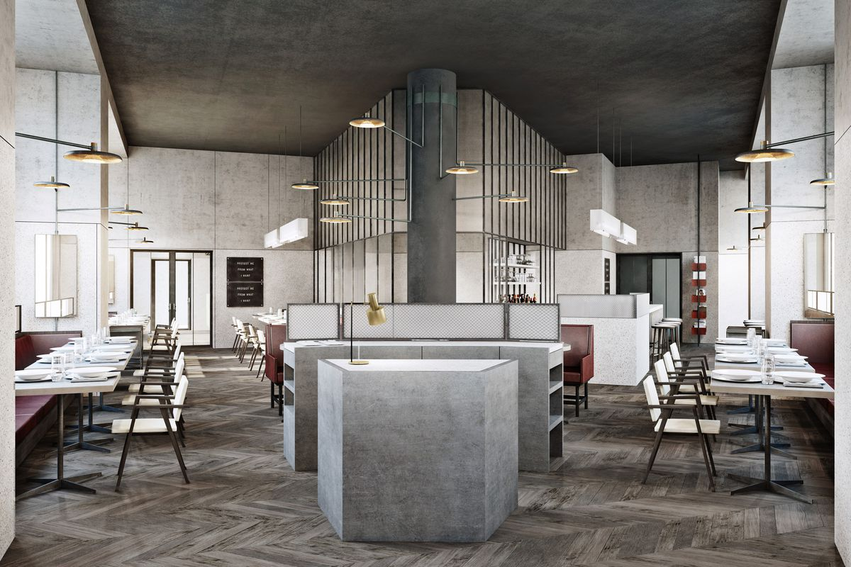 Cafe Robey rendering