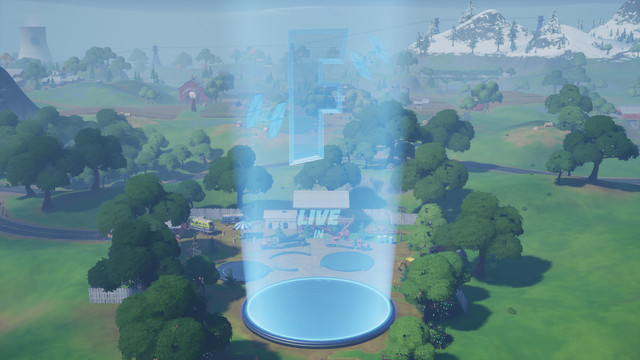 Fortnite's Risky Reels before the debut of the new Star Wars: The Rise of Skywalker clip in-game
